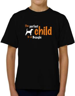 The Perfect Child Is A Beagle T-Shirt Boys Youth
