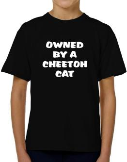 Owned By S Cheetoh T-Shirt Boys Youth
