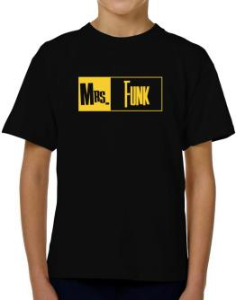 Mrs. Funk T-Shirt Boys Youth