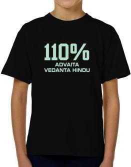 110% Advaita Vedanta Hindu T-Shirt Boys Youth