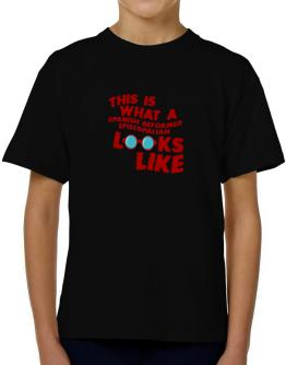 This Is What A Spanish Reformed Episcopalian Looks Like T-Shirt Boys Youth