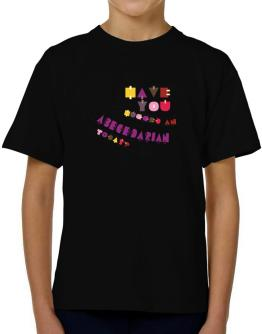 Have You Hugged An Abecedarian Today? T-Shirt Boys Youth