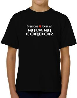 Everyones Loves Andean Condor T-Shirt Boys Youth
