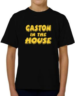 Gaston In The House T-Shirt Boys Youth