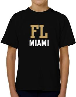 Miami - Postal usa T-Shirt Boys Youth