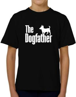 The dogfather Chihuahua T-Shirt Boys Youth