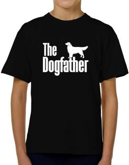 The dogfather Golden Retriever T-Shirt Boys Youth
