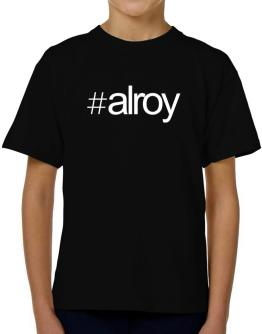 Hashtag Alroy T-Shirt Boys Youth