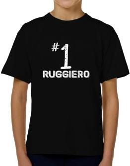 Number 1 Ruggiero T-Shirt Boys Youth
