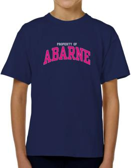 Property Of Abarne T-Shirt Boys Youth