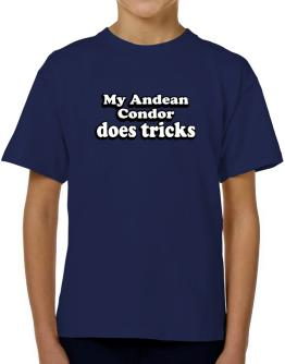 My Andean Condor Does Tricks T-Shirt Boys Youth