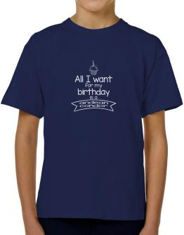 All I want for my birthday is a Andean Condor 2 T-Shirt Boys Youth