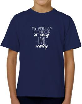 My Andean Condor is very tame really 2 T-Shirt Boys Youth