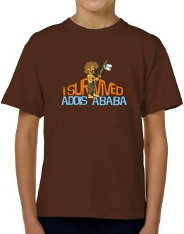 I Survived Addis Ababa T-Shirt Boys Youth