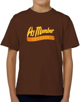 Hy Member For A Reason T-Shirt Boys Youth