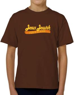 Jesus Jewish For A Reason T-Shirt Boys Youth