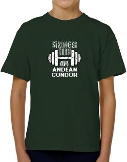 Stronger than a Andean Condor 2 T-Shirt Boys Youth