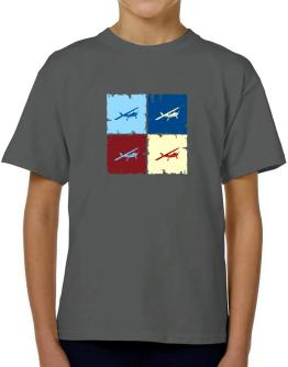 """ Aerobatics - Pop art "" T-Shirt Boys Youth"