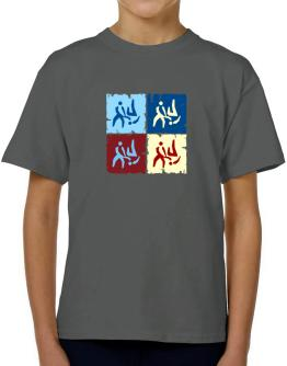 Aikido - Pop Art T-Shirt Boys Youth