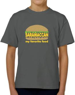 Saramaccan My Favorite Food T-Shirt Boys Youth