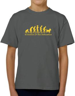 Evolution Of The Chihuahua T-Shirt Boys Youth