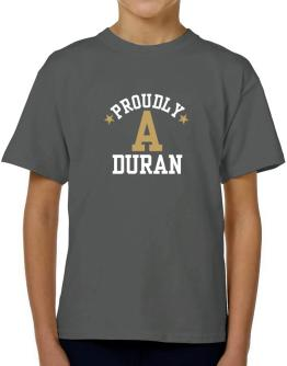 Proudly Duran T-Shirt Boys Youth