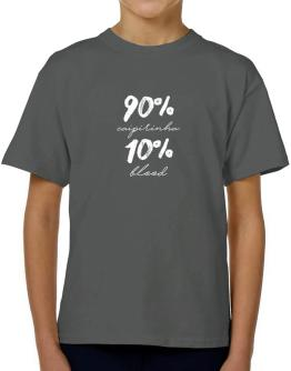 90% Caipirinha 10% blood 2 T-Shirt Boys Youth