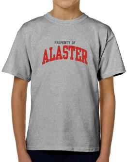 Property Of Alaster T-Shirt Boys Youth
