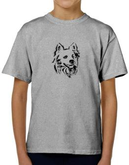 """"""" Australian Cattle Dog FACE SPECIAL GRAPHIC """" T-Shirt Boys Youth"""