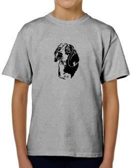 Beagle Face Special Graphic T-Shirt Boys Youth