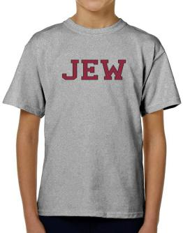 Jew - Simple Athletic T-Shirt Boys Youth