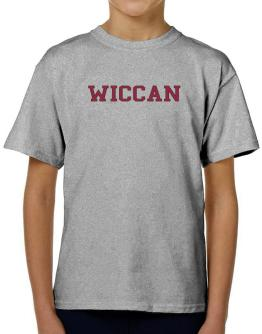 Wiccan - Simple Athletic T-Shirt Boys Youth