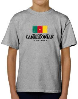 Property of Cameroonian Nation T-Shirt Boys Youth