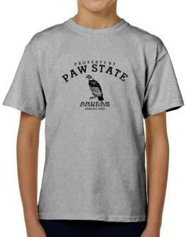 Property by paw state Andean Condor T-Shirt Boys Youth