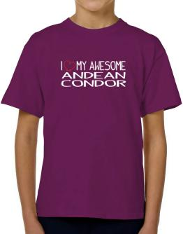 I love my awesome Andean Condor T-Shirt Boys Youth