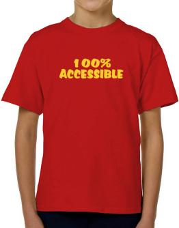 100% Accessible T-Shirt Boys Youth