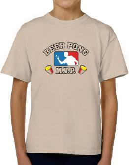 Beer Pong MVP T-Shirt Boys Youth