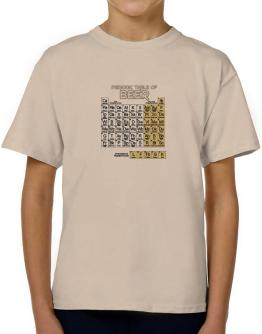 Periodic Table of Beer T-Shirt Boys Youth