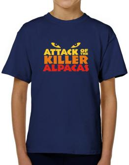 Attack Of The Killer Alpacas T-Shirt Boys Youth