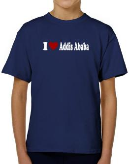 I Love Addis Ababa T-Shirt Boys Youth