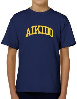 Aikido Athletic Dept T-Shirt Boys Youth