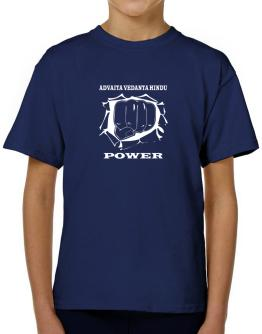 Advaita Vedanta Hindu Power T-Shirt Boys Youth