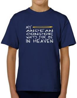 My Andean Condor Waits For Me In Heaven T-Shirt Boys Youth