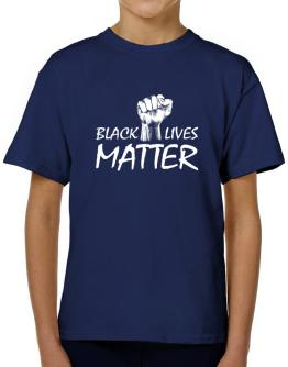 Black lives matter T-Shirt Boys Youth