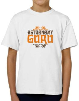 Astronomy Guru T-Shirt Boys Youth