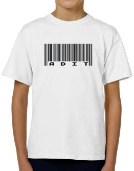 Bar Code Adit T-Shirt Boys Youth