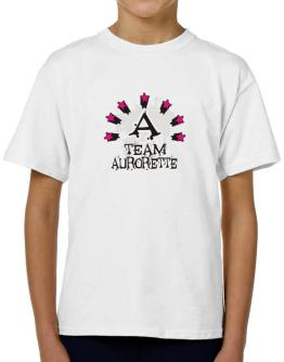 Team Aurorette - Initial T-Shirt Boys Youth