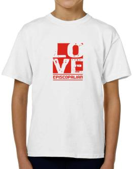 Love Episcopalian T-Shirt Boys Youth