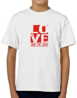 Love Jews For Jesus T-Shirt Boys Youth