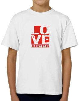 Love Wicca T-Shirt Boys Youth